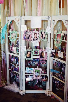"""Meet the Maids"" bridal shower decoration"