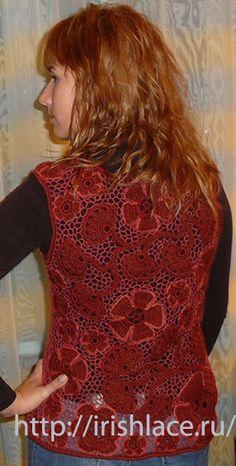 Irish crochet lace at irishlace.ru