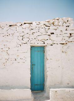 Teal Door Mykonos | photography by http://martalocklear.com/