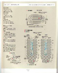 sandalias a crochet | Escarpines a crochet - Las Manualidades