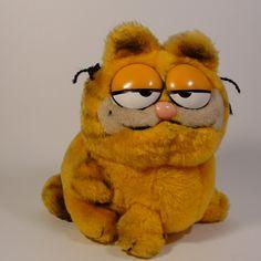 Garfield plush I had one