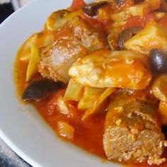 "Melissa's Chicken Cacciatore | Review & photo by Christina: ""Everyone really enjoyed the flavors of this, and I it was so easy to make! This is a keeper for my family~YUM! Thanks for sharing. :)"" chicken entre, turkey recip, melissa chicken, bake recip, food fetish, chicken cacciator, cacciator recip"