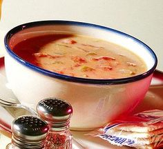 Old-Fashioned Cream of Tomato Soup.