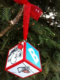 Cat In the Hat Ornament by OllieBeez on Etsy