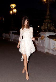 Hanneli Mustaparta #lace #dress #fashion #wedding