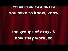 nurses medication study song