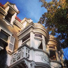 """Wedding Cake Mansion"" on Taylor Street the Savannah Historic District"
