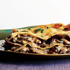 Mushroom Lasagna Recipe < Baked Pasta Recipes - Cooking Light