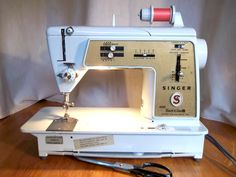 This is the Golden Touch & Sew made by Singer.  It's one of the first to use plastic gears but still awesome for regular and light sewing.