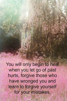 forgive and heal