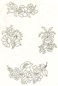 kalocsai minta, magyar motivumok, hungarian folk, folk embroideri, magyar minták