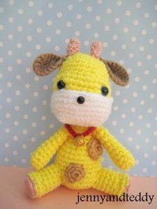Giraffe crochet amigurumi free pattern