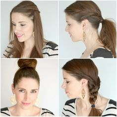 Hair did: 4 Easy hairstyles for long hair (Plus WIN awesome prizes from Schwarzkopf)