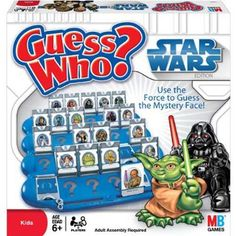 Star Wars Guess Who $24.99