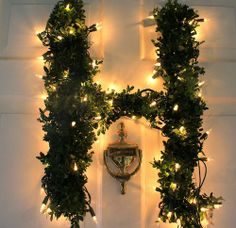 DIY letter wreath :)