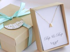 Gold Bar Name Necklace. The Jessica. by BipAndBop on Etsy, $45.00