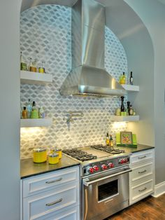 contemporary stainless kitchen