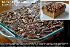 Secret Agent Coffee Cake THM page 382