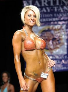 Crystal Harris 2012 Jay Cutler Desert Classic Bikini C Class Winner