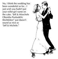 derby wedding : )