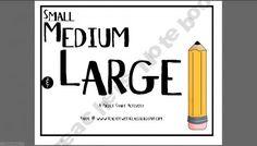 Small Medium & Large