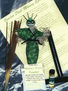 Hoodoo Magick Rootwork:  Money Drawing Spell.