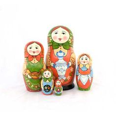 "Traditional Matryoshka ""Samovar""    FromRussia.com"