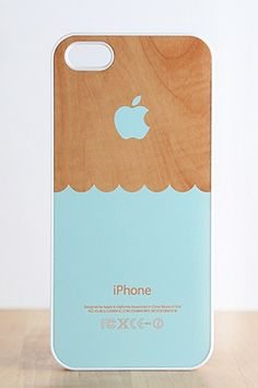 Wooden Waves iPhone Cases by Evon Case