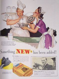 Old Gold Cigarettes Ad, 1941 by ozfan22, via Flickr