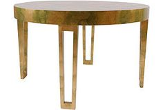 James Mont Dining Table w/ Extension