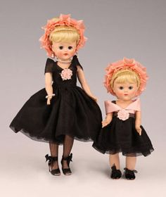 Vintage dolls: Jill & Ginny