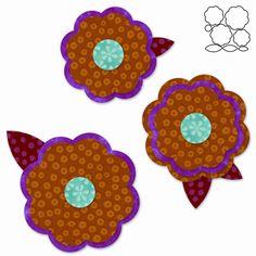Burlap flowers on pinterest burlap flower tutorial for Burlap flower template