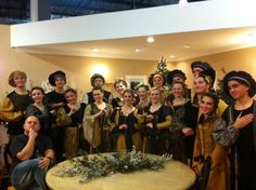 Barrington's Madrigal Singers at Treetime's Christmas Showroom this Holiday season. Thank you for your amazing performance and talent!