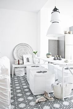 Moroccan Style Inspiration in White