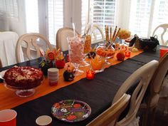 My Halloween Table
