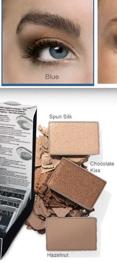 Mary Kay - eyeshadow for blue eyes http://www.marykay.com/lisabarber68 call or text 386-303-2400