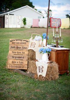 from a farm wedding