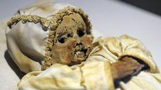 Baby mummy from the 16 century.