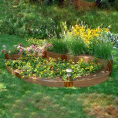 Scenery Solutions�L X 125 Inches W X 18 Inches H   Raised Garden Bed