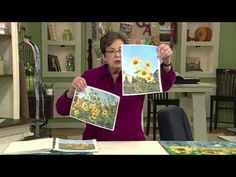▶ Quilting Arts Workshop - Designing Landscape Quilts: Quilt Art Techniques Simplified - Judith Trager - YouTube
