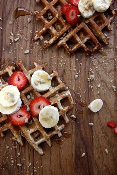 Whole Grain Waffles with Millet, Poppy, Sunflower & Flax on bustle.com