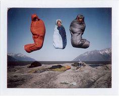 jump | sleeping bags