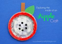 I HEART CRAFTY THINGS: Apple Craft