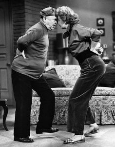 Fred tries to teach Lucy the Danse Apache!