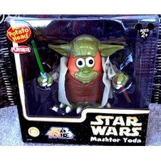 Disney Star Wars Mashter Yoda Mr. Potato Head Toy  http://www.amazon.com/Disney-Star-Wars-Mashter-Potato/dp/B005G88TK4#