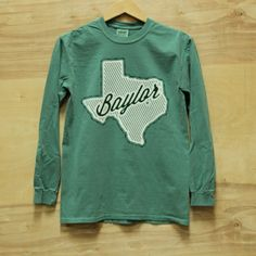 Texas Baylor Long Sleeve