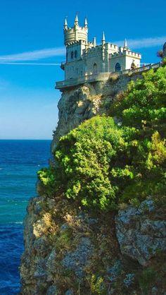 Swallow's Nest,  Crimea, Yalta, Ukraine