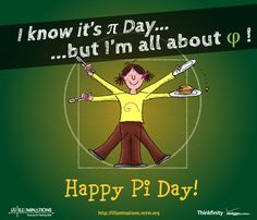 I know it's Pi Day, but I'm all about the Golden Ratio! Happy Pi Day!