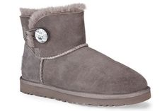 UGG Australia Mini Bailey Button with Bling!