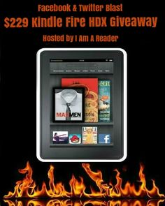 Facebook and Twitter Blast Kindle Fire Giveaway!